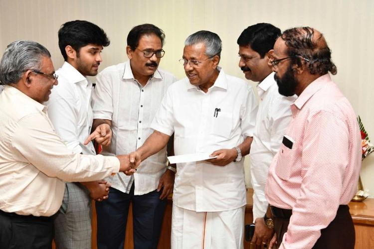 Dhruv Vikram donates first film Varma paycheck to Kerala flood relief