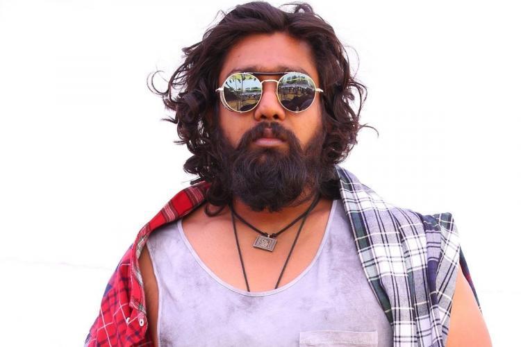 Actor Dhruva Sarja essays the role of Shiva in Kannada movie 'Pogaru'.