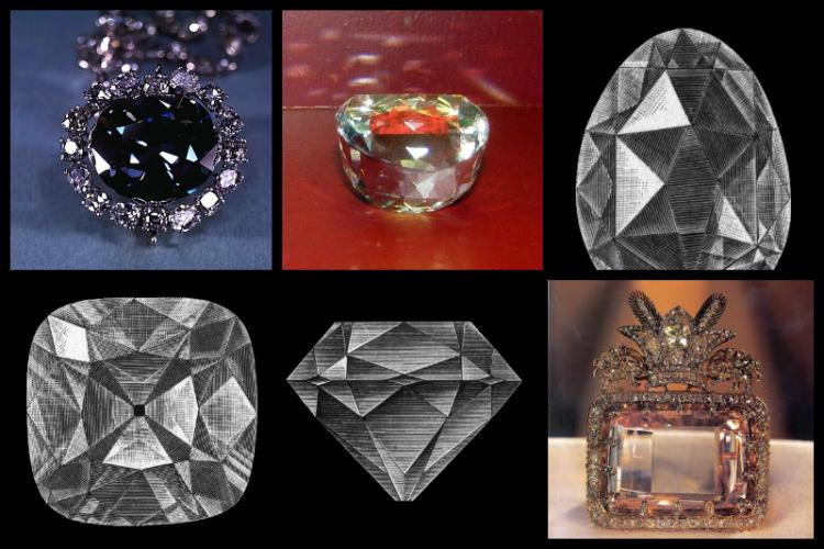 Not just the Koh-i-noor Eight precious diamonds of Golconda which India lost