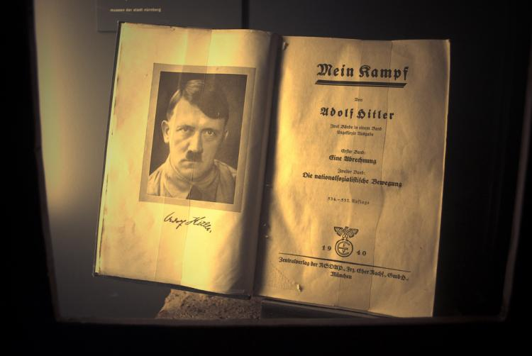 Why is it so hard to get a copy of Hitlers Mein Kampf