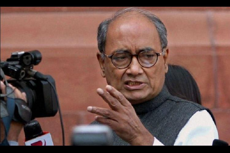 When in drought Karnataka and TN will have to scale down water demand Digvijaya Singh