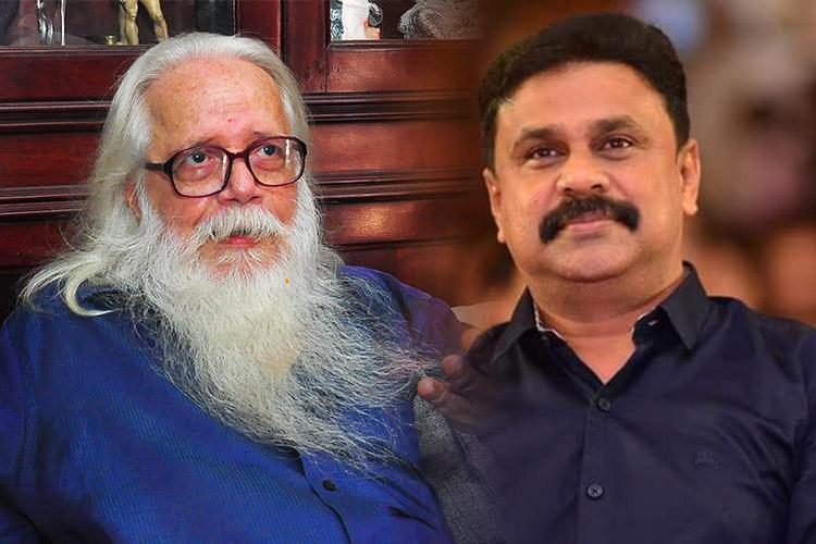 Accused actor Dileep calls Nambi Narayanan a leading lamp in battle for justice