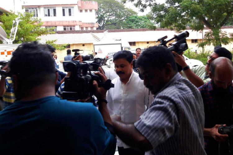 Once again Dileep examines sexual assault visuals of Malayalam actor after SC order
