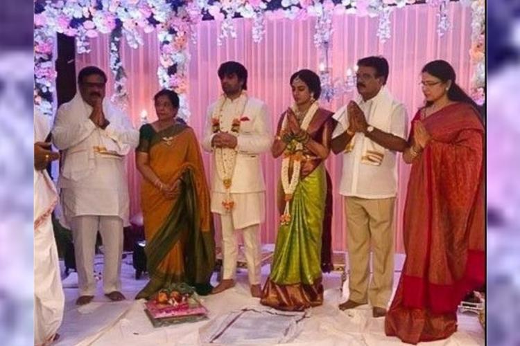 Saaho director Sujeeth Reddy gets engaged to Pravalika in Hyderabad