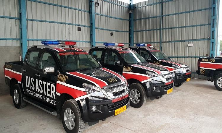 Hyderabad becomes second city in India to have dedicated Disaster Response Force