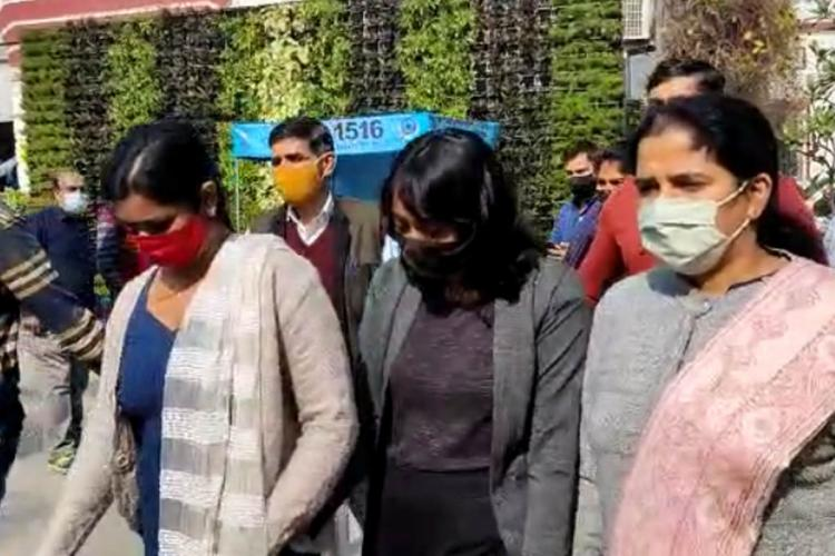 22-year-old Disha Ravi, arrested in toolkit case, produced before a Delhi court