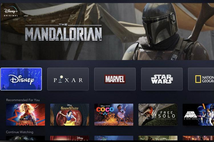 Disney unveils streaming service to take on Netflix to be rolled out in November