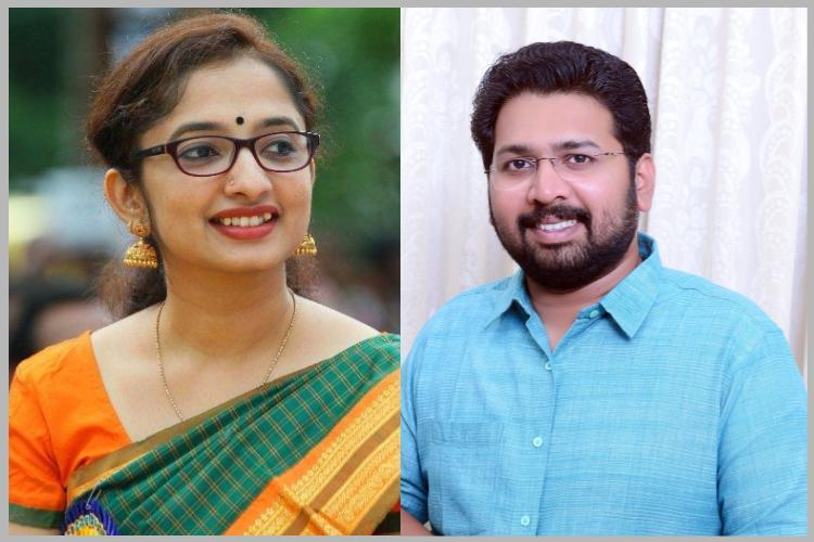 Bureaucrat and politician getting hitched in Kerala media and trolls cant stop obsessing