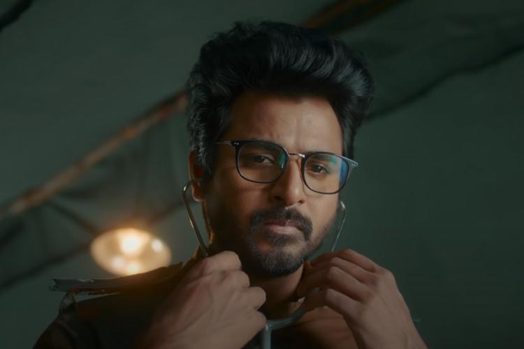 Sivakarthikeyan in the trailer of Doctor