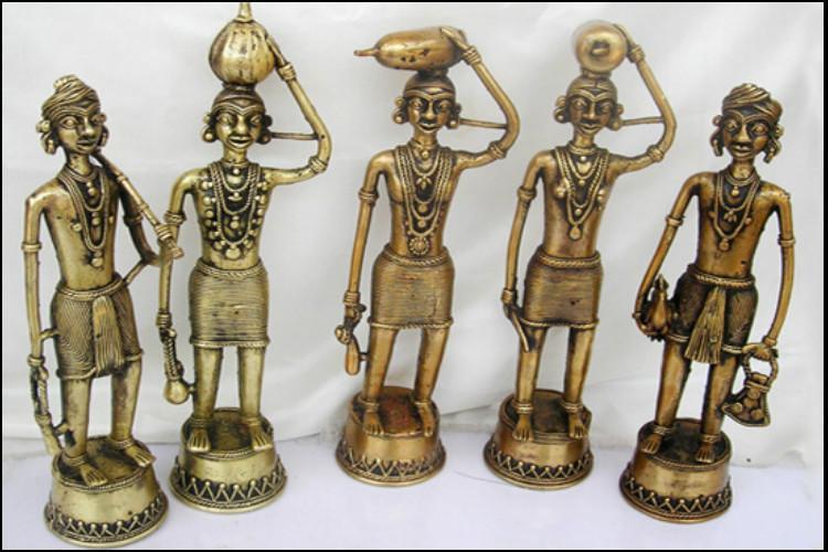 Telangana bags two more GI tags with Adilabad Dokra metal craft and Warangal durries