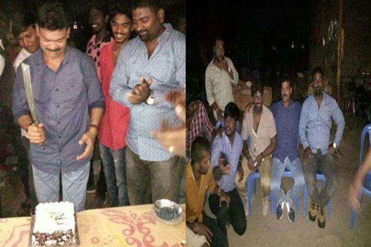 Chennai Don Binu surrenders a week after police crashed his birthday party