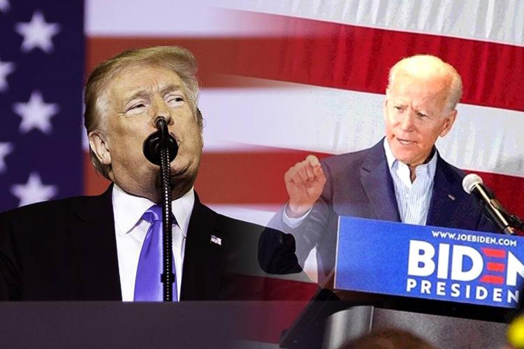 Donald Trump and Joe Biden fight it out in US Polls