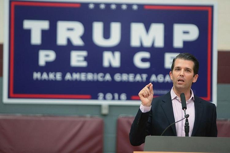 Trumps son criticises London mayor after attack