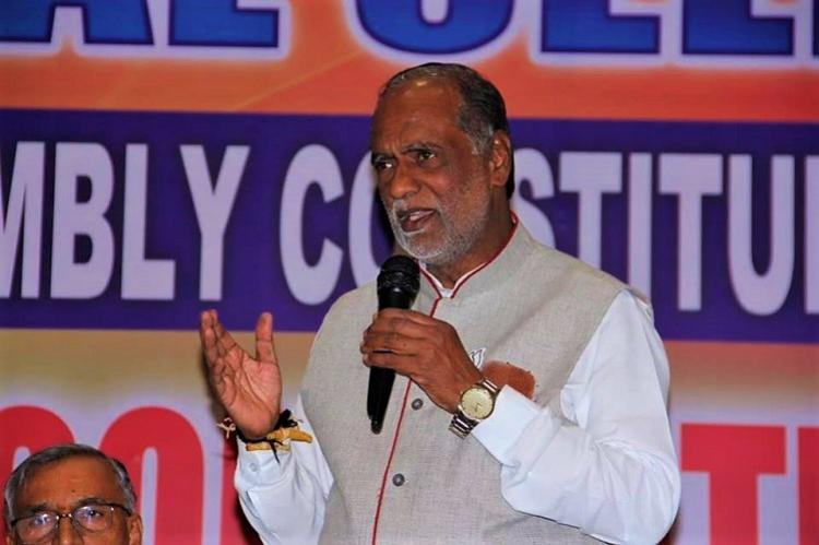 Federal front Telangana BJP hits out at KCR says it is a family front