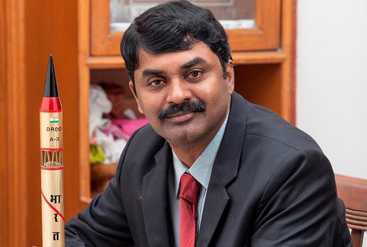 DRDO chief G Satheesh Reddy conferred American missile award