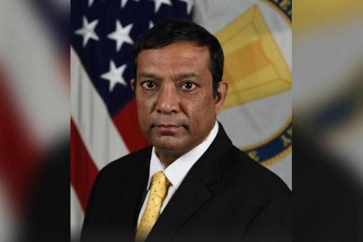 Official portrait of Dr Raj Iyer Chief Information Officer of US Army
