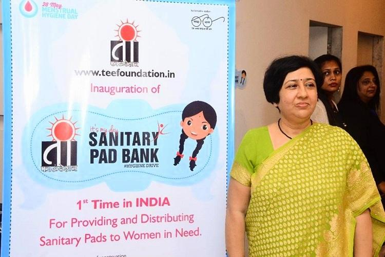An Indian MLA has started a digital sanitary pad bank for underprivileged women