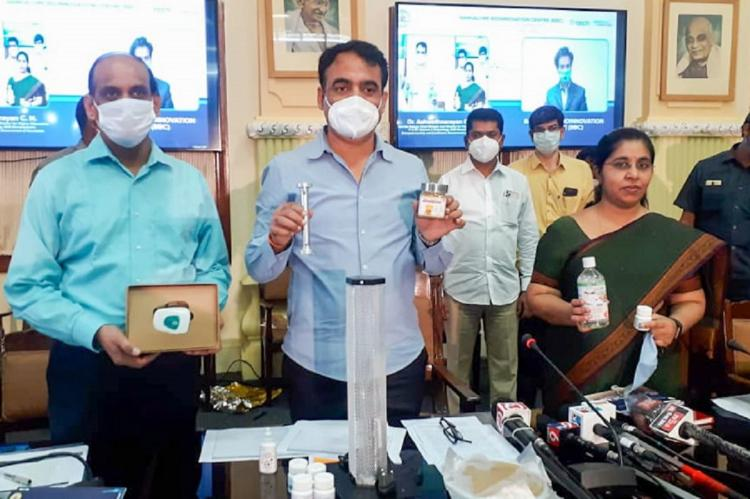 Eight products launched in Bengaluru to manage COVID-19 Karnataka Dy CM