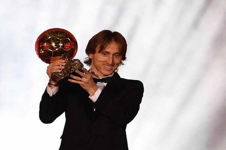 Croatias Luca Modric wins 2018 Ballon dOr