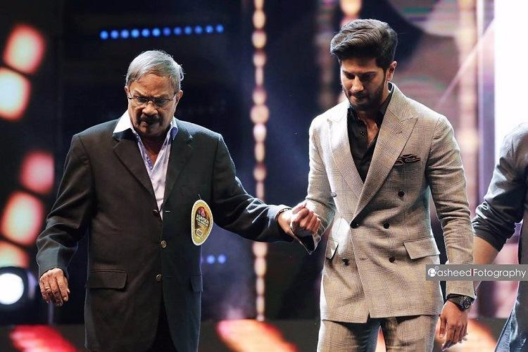 Honoured to be onstage with MT Dulquer Salmaan on acclaimed writer