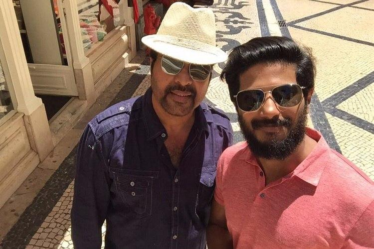 Forever younger than me and a million times cooler Dulquer wishes dad Mammootty on birthday