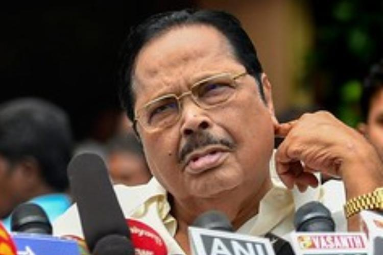 Dont care if Congress leaves alliance DMKs Duraimurugan lashes out