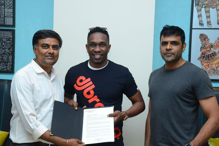 Cricketer Dwayne Bravo to act in film to promote awareness on womens hygiene