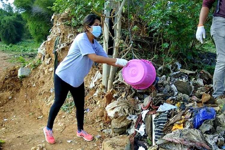 In photos Volunteers clean three tonnes of garbage from Hebbal lake in three hours