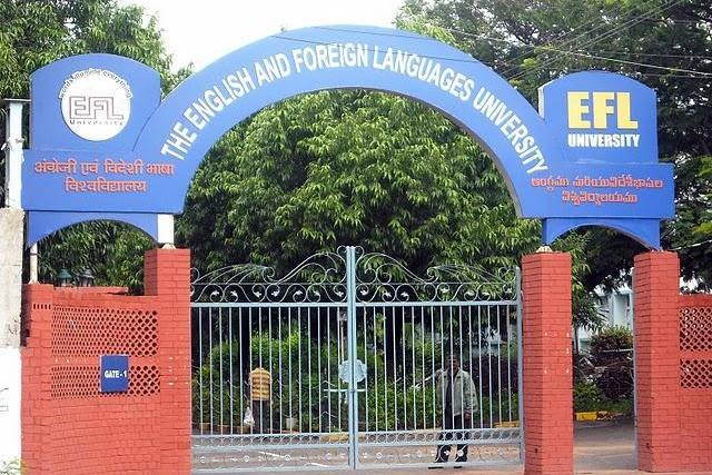 EFLU students protest eviction of Dalit PhD scholar demand action against proctor