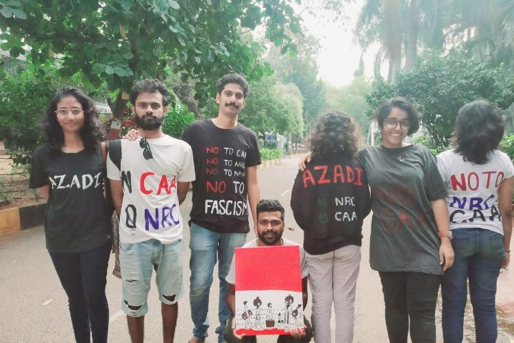 EFLU students in Hyd accuse varsity of stifling protests against CAA quoting a no protest rule
