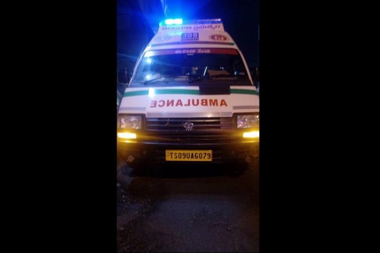 Hyderabad ambulance allegedly refuses service to injured EFLU students