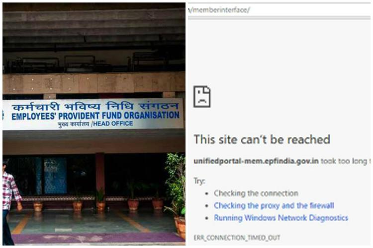 Unified EPF website down for several months employees struggle for claims