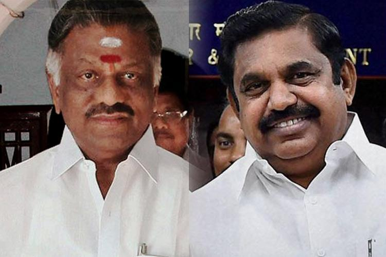 The great AIADMK merger Will EPS OPS factions combine Live blog