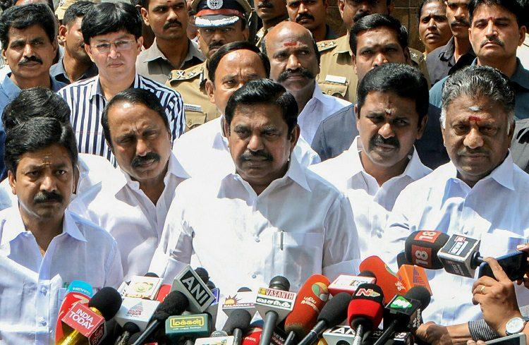 TN CM announces Rs 1000 crore relief to cyclone-hit regions