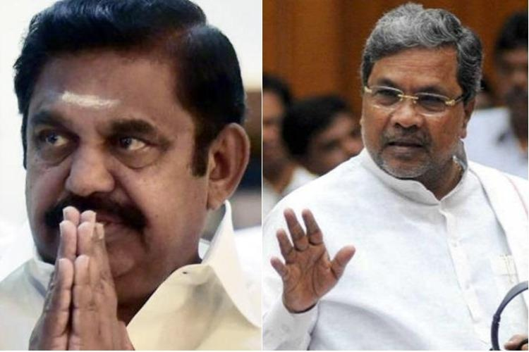 Cauvery issue TN CM seeks appointment with Siddaramaiah on release of water