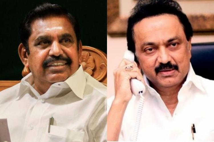 Edappadi Palaniswami and MK Stalin