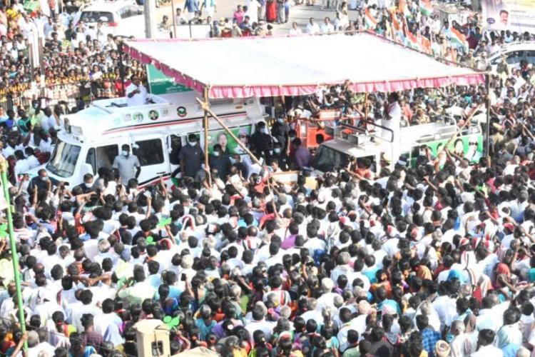 Campaign of Edappadi K Palaniswami