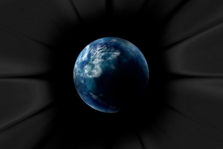 What would happen if Earth fell into a black hole