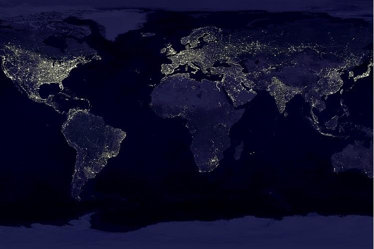 In images nasa releases stunning new global maps of earth at night in images nasa releases stunning new global maps of earth at night gumiabroncs Gallery