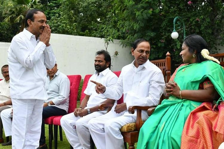 Why Telangana CM KCR had no choice but to retain Health Min Eatala Rajendar in the cabinet