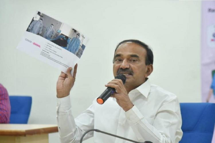 Telangana will give COVID-19 vaccine for free to the poor Eatala Rajendar