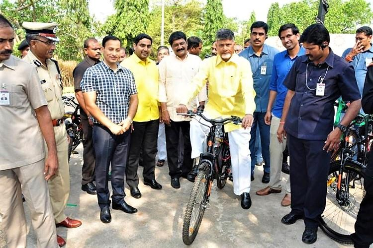 Vizags municipal officials will now whiz past you thanks to these new e-bikes