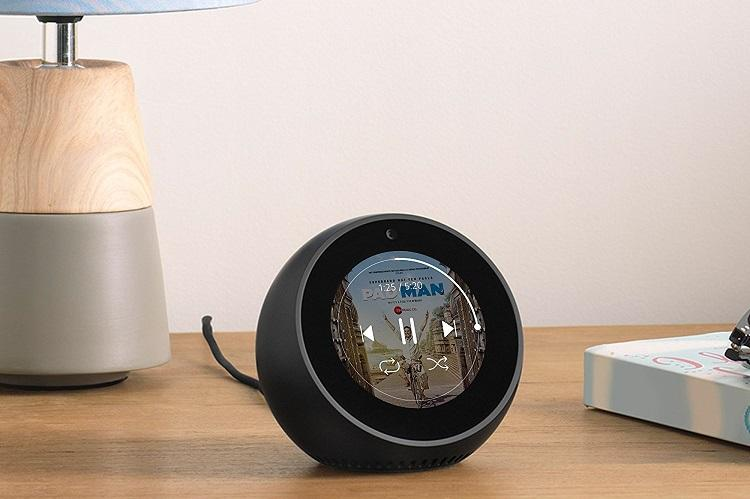 Amazon launches Echo Spot speaker with circular display in India