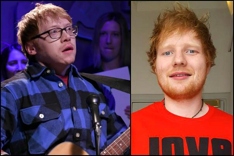 What does Harry Potters best friend have to do with Ed Sheeran Shape of You and how