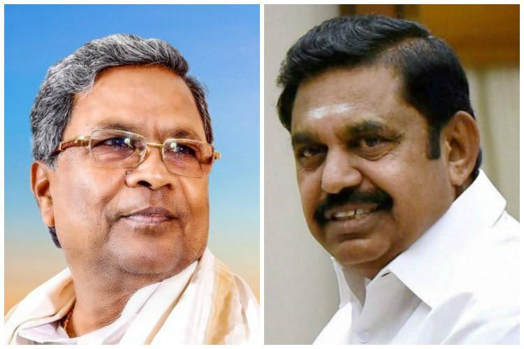 Do release 7 tmc ft of Cauvery water immediately TN CM to Siddaramaiah