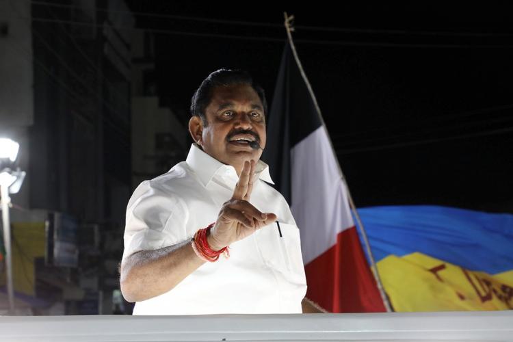 Tamil Nadu Chief Minister Edappadi Palaniswami