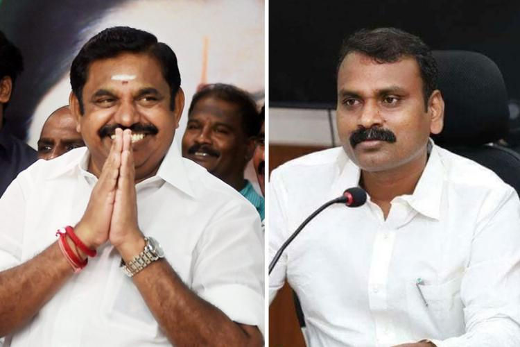 Rallies that divide people wont be allowed AIADMK mouthpiece slams BJPs Vel Yatra
