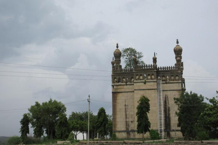 A Eidgah near Sangareddy in Telangana