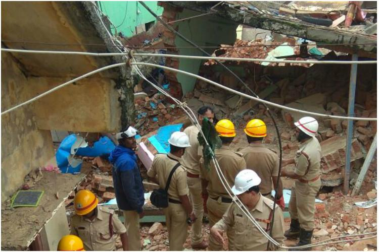 At least seven dead after building crumbles downs in Bengalurus Ejipura