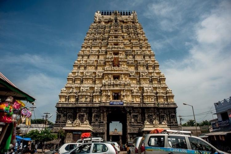 Kanchipuram The capital of the Pallavas and the city of a thousand temples